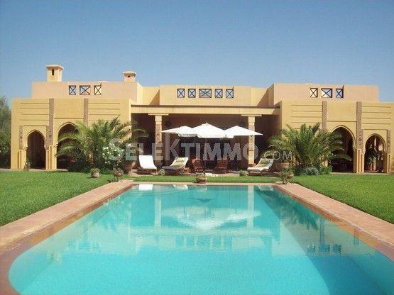 Vente Villa Marrakech Route de l Ourika  10000 m2 - 4 chambre(s)