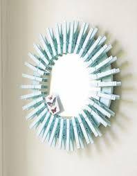 espejos con material reciclado buscar con google