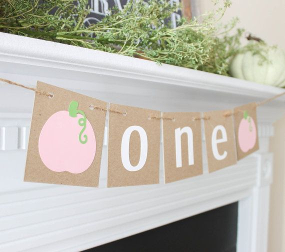 Little Pumpkin Banner- Little Pumpkin first birthday- Little Pumpkin- Fall Baby…