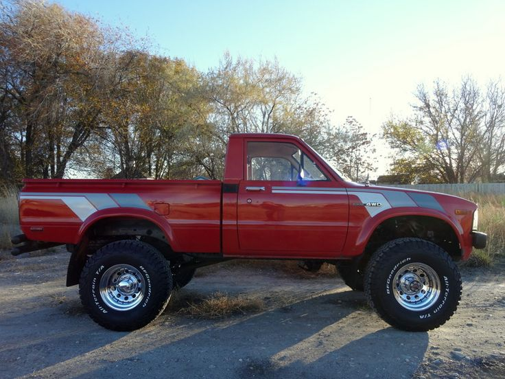 2017 Toyota Tacoma Lifted >> 1981 Toyota Pickup Hilux 4x4 | Willys, Toyota, Jeep, VW ...