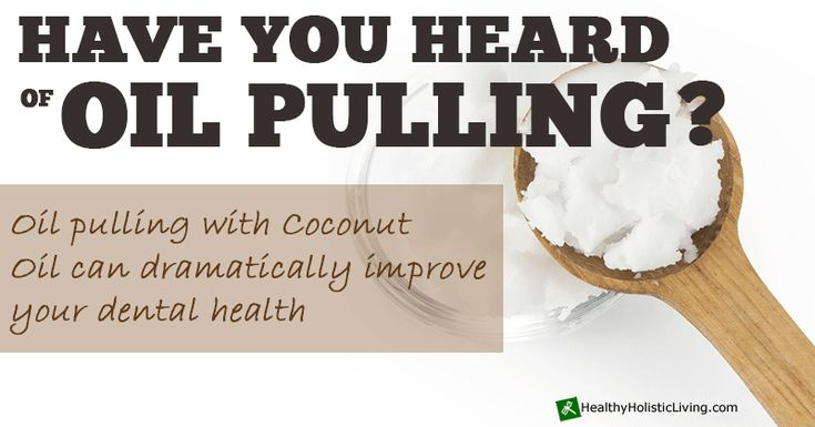 About two weeks ago, I wrote an article about coconut oil  an awesome tropical oil with many health benefits. A few people commented that they use coconut oil for something called 'Oil Pulling'  which is kind of like using an oil as mouthwash. Apparently, there are quite a few studies...More