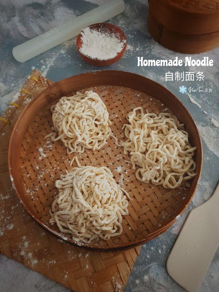 Mie Homemade Homemade Noodles Cooking Recipes Homemade