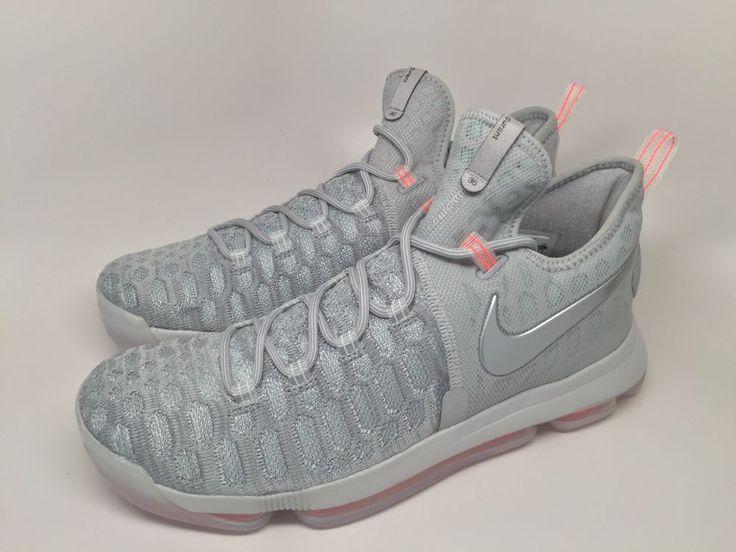 nike zoom kd 9 lmtd pre heat zero wolf grey 843396 090 size 9.5 shoes
