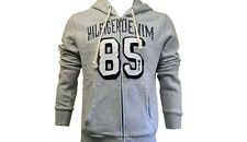 Authentique tommy hilfiger denim 85 Sweat à capuche gris moyen Bnwt