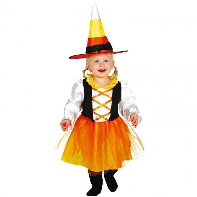 Disfraz de Bruja Dulce para bebé #disfraces #carnaval #novedades2017