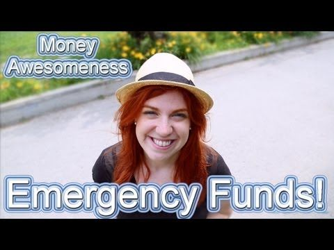 Money Awesomeness: Emergency Funds! Do you know how much money you should have saved for emergencies? Learn more in this VIDEO!