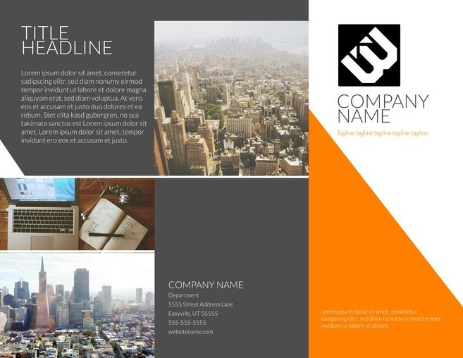 23 Best Free Brochure Templates Images On Pinterest Free Brochure