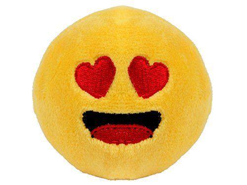Balle anti-stress peluche Smiley doux Emoji émoticônes Alsino idée cadeau fille garçon homme femme romantique amoureux Diamètre: 7 cm…
