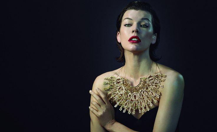 Milla Jovovich é o rosto de campanha internacional que promove a joalharia portuguesa