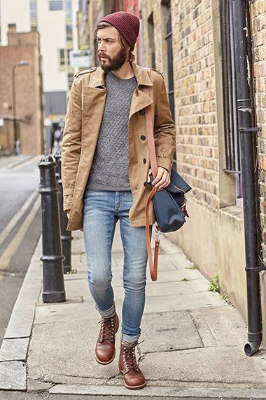 Macho Moda - Blog de Moda Masculina: Looks Masculinos com Bota Marrom, pra inspirar!                                                                                                                                                                                 Mais