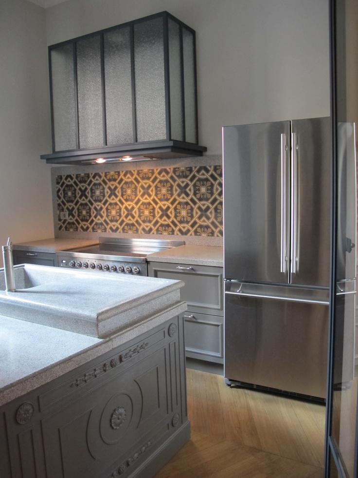 gennaio 2013   ambiente cucina in una residenza d' epoca milanese
