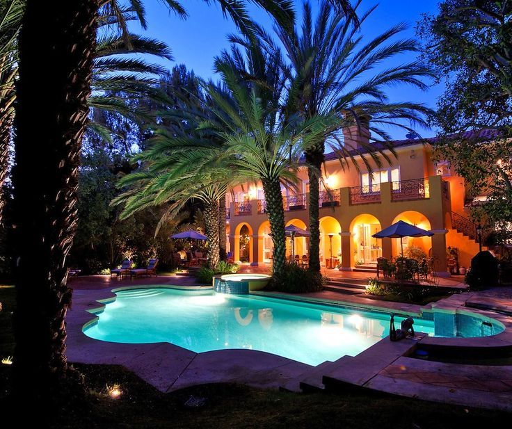 Exotic Homes Los Angeles: 32 Best Exquisite Mediterranean Estate, California