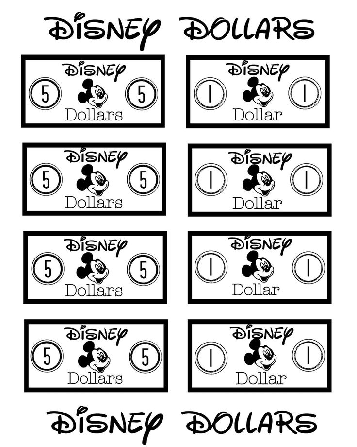 Resource image intended for disney dollars printable