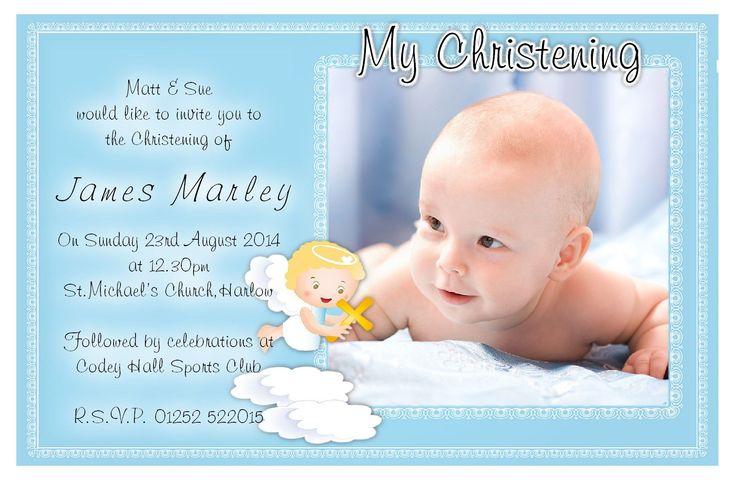 Baptism Invitation Card : Baptism Invitation Card Maker - Superb Invitation - Superb Invitation