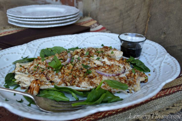 Pecan Crusted Trout. | Seafood | Pinterest