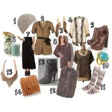 3 Fs: Fringe, fur and feathers