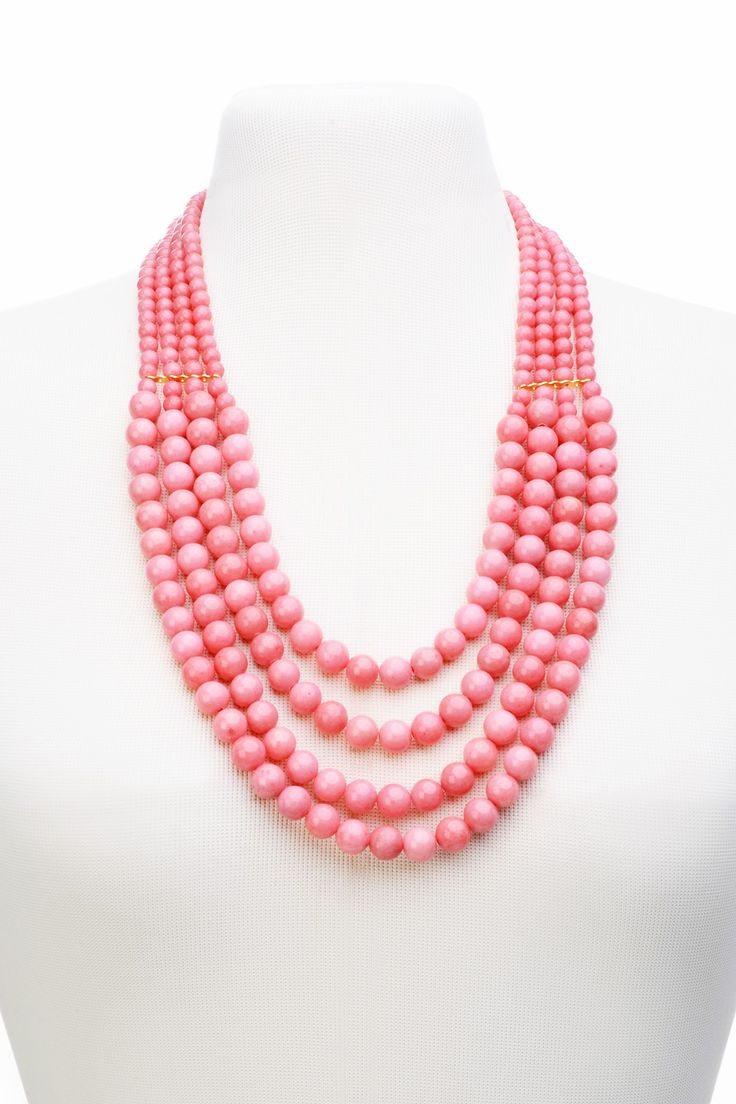 PITANGA Bernadette Salmon Necklace