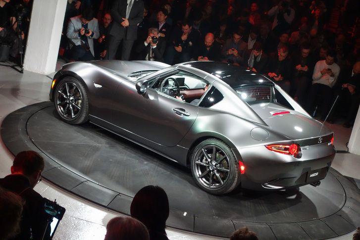 Totalcar - Magazin - Bemutató: Mazda MX-5 RF – 2015.