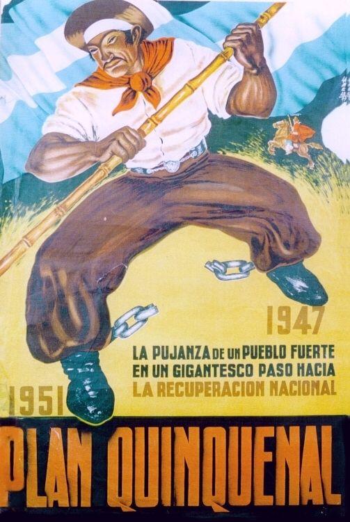Publicidad institucional del gobierno peronista.