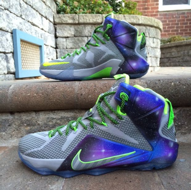Buy Discount Nike Lebron 12 Elite Instinct Cave Purple Turquoise