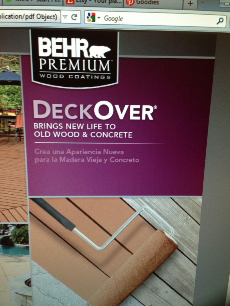 Behr Porch And Patio Paint Quart: 10 Best Deck Images On Pinterest