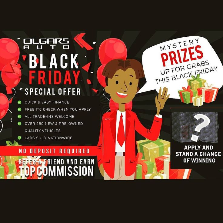 #BlackFriday is coming up! You stand a chance of getting MASSIVE gifts when you apply in this coming WEEK.