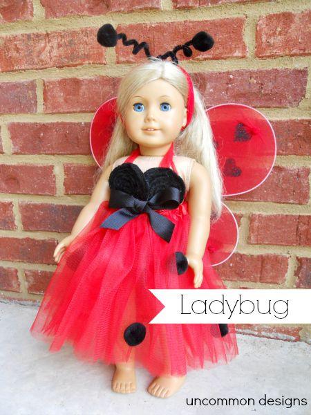 6 DIY Halloween Costumes for American Girl Dolls - Uncommon Designs...