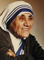"""""""We think some times that poverty is only being hungry, naked, and homeless.  The poverty of being unwanted, unloved, and uncared for is the greatest poverty.  We must begin in our own homes to remedy this kind of poverty"""" Mother Teresa"""