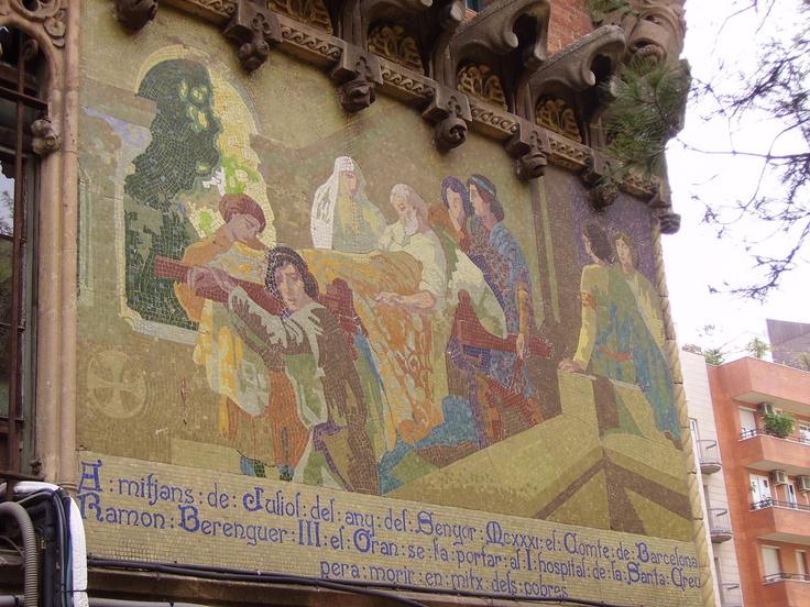 Mosaic Ramon Barenguer Hospital de Sant Pau