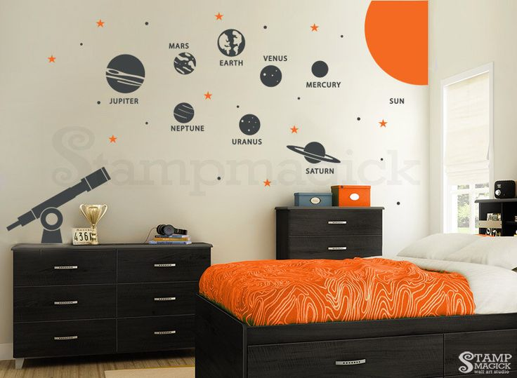 25 unique solar system room ideas on pinterest boys space bedroom solar system painting and. Black Bedroom Furniture Sets. Home Design Ideas