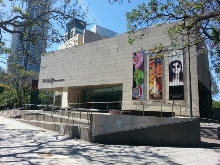 Museo de Arte Latinoamericano de Buenos Aires (MALBA)- Modern art museum. Shows some of the best art from the 20th C.