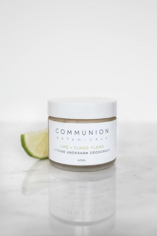 Communion Botanicals Citrine Underarm Deodorant