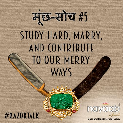 This #IWD15 Nayaab Jewels gifts its twitter to all women with sharp campaign #RazorTalk. Join to shave off stereotypes, labeling, narrow-mindedness of such #MunchSoch: twitter.com/NayaabJewels