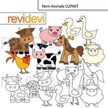 Free farm animal clipart for teachers - photo#40