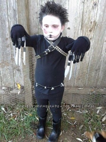 My son has always been mature for his age. On his 3rd Halloween he kept asking to watch Edward Scissorhands. Finally agreed. Two years later (th...