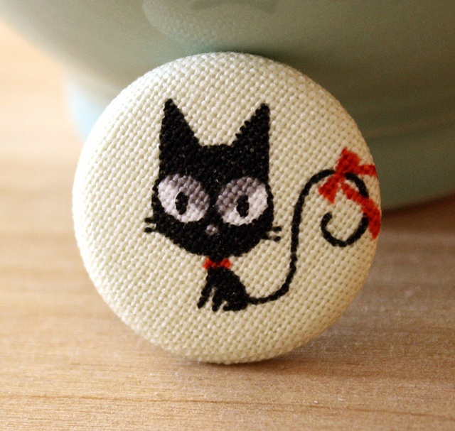 Vintage Kitty Pin