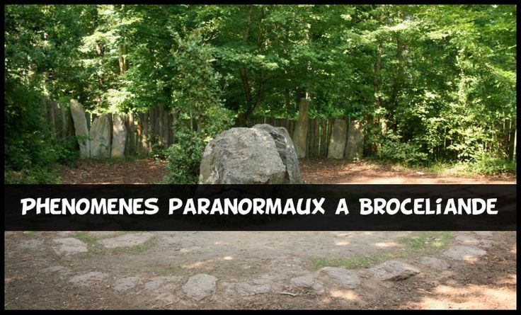 Phénomènes Paranormaux à la Forêt de Brocéliande