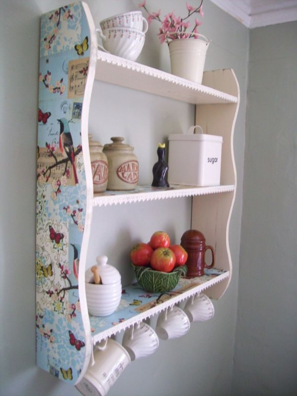 25 best ideas about shabby chic shelves on pinterest