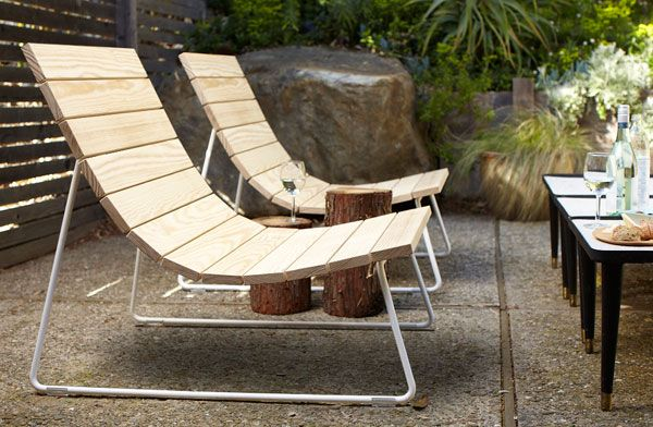The Adirondack Chair Reimagined : Remodelista