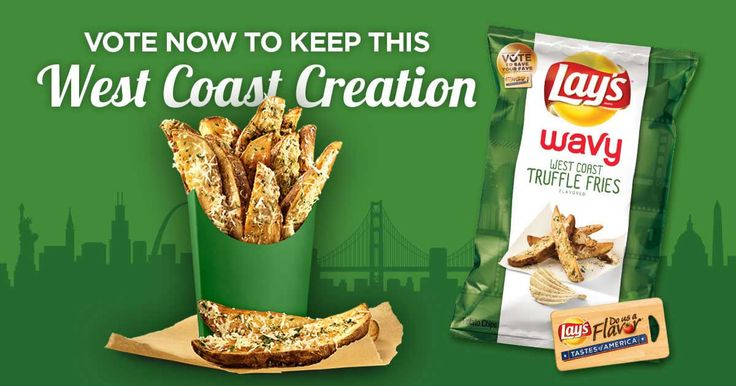 Vote now to keep this West Coast creation – Imagine your favorite Parmesan cheese fries smothered in decadent truffle...BLISS! Vote now to save new Lay's Wavy West Coast Truffle Fries. #FlavorAmbassadors
