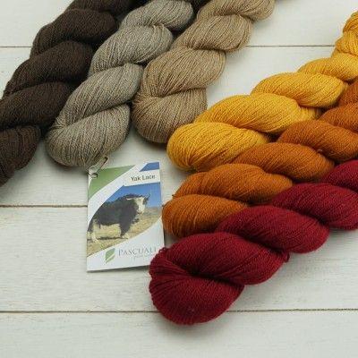 50g Pascuali Yak Lace Luxus Wolle Strickwolle aus 100% Yakwolle