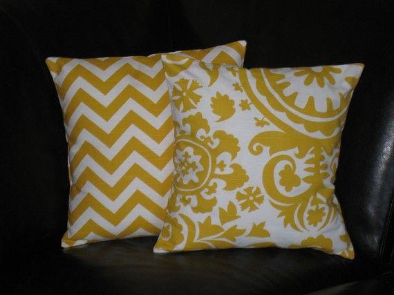 Yellow decor pillows inside house pinterest peeps for Insider design pillow