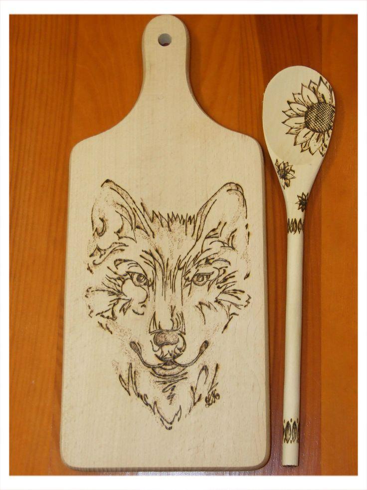 pyrografika - vypalování do dřeva, moje práce jako dárek do aukce (my craft, present to charity auction, pyrography)