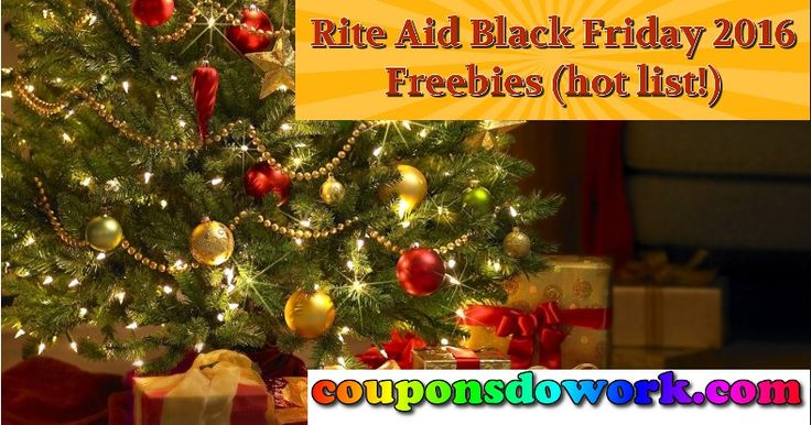 Rite Aid Black Friday 2016 - List of Awesome Freebies - http://couponsdowork.com/rite-aid-weekly-ad/rite-aid-black-friday-2016-list-of-awesome-freebies/