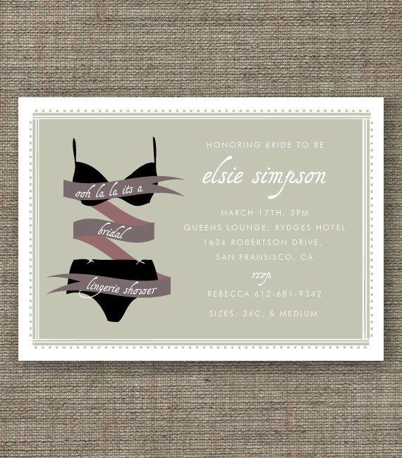 39 best SHOWER IDEAS images on Pinterest Wedding parties - printable bridal shower invites