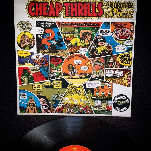 Big brother and the holding company - Cheap Thrills1968, HOLLAND, CBS 32004, Release.\
