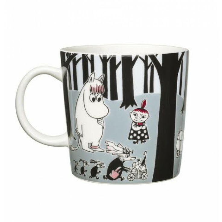 Arabia - Moomin Adventure Move Mug - Mugs - Moomin