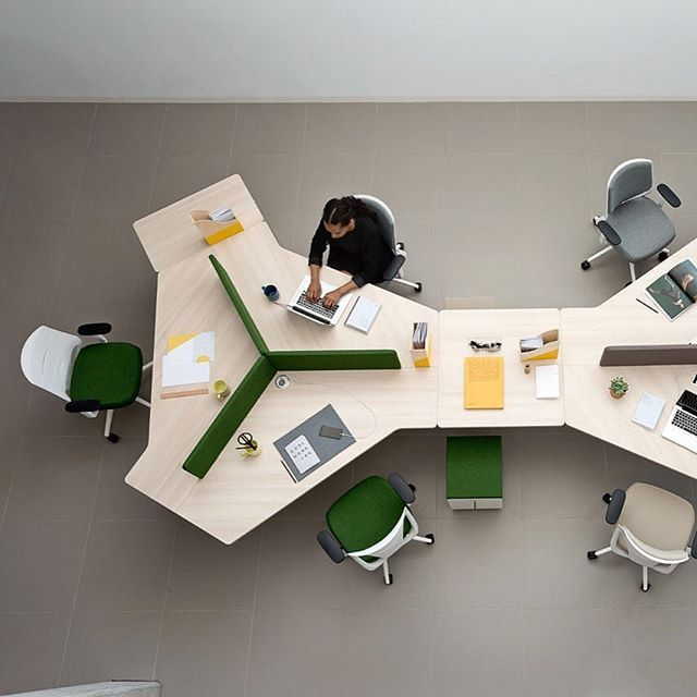 TWIST GEN - A new family of workstations by Actiu. TWIST GEN is the new concept for offices looking towards the #future. Space optimisation, #collaboration and proximity of people is the intent of this product. And we think it achieves this quite well. Check it out for yourself in #Australia via TCW #Sydney or #Melbourne. . . #workstation #work #desk #office #design #furnituredesign #furniture #actiu #twist #interiordesign #officedesign #architecture