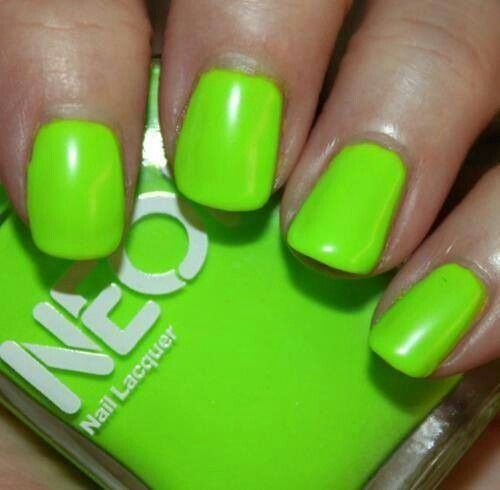 1000+ Ideas About Lime Green Nails On Pinterest