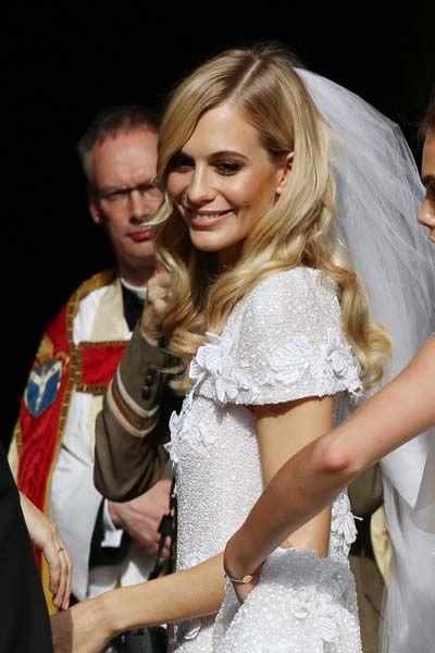 Poppy Delevingne's Wedding: Chanel Wedding Dress, Cara Delevingne As Bridesmaid | Grazia Fashion